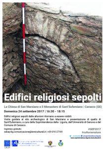 Carasco - Visita guidata ai siti di San Marziano e Sant'Eufemiano