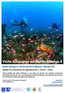 GEP2017 - Albenga -Immersioni sul relitto A