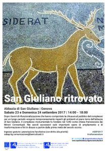 Genova - Visita guidata all'Abbazia di San Giuliano