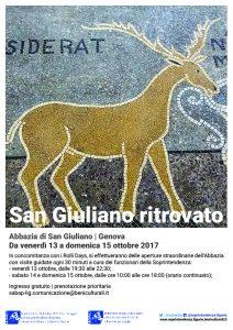 Locadina San Giuliano ritrovato