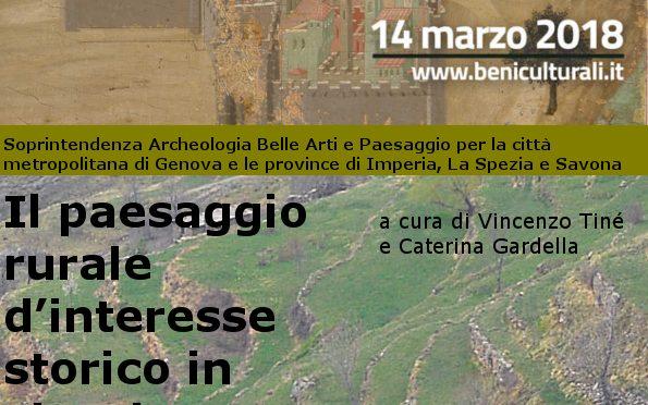 Il paesaggio rurale d'interesse storico in Liguria, prospettive di tutela e valorizzazione