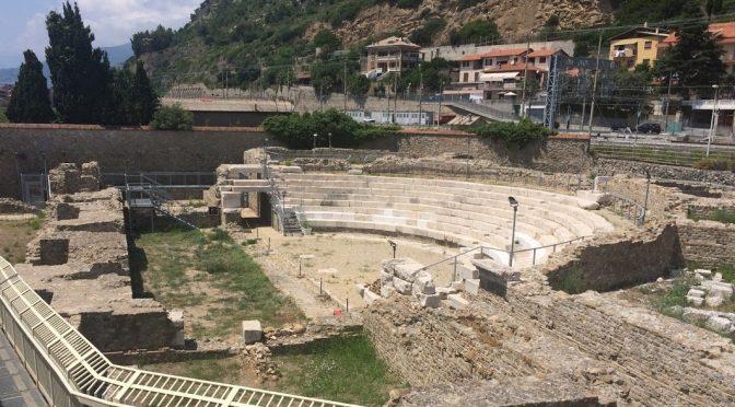 Novum Theatrum Intemelium. Presentazione del restauro del teatro romano di Nervia