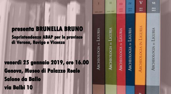 Presentazione del volume Archeologia in Liguria VI